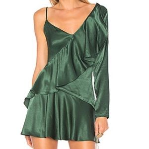 NWT New Lovers and Friends One Shoulder Dress